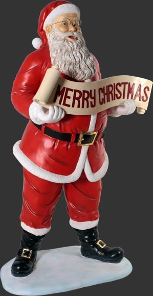 """FIGURA SANTA CLAUS MERRY CHRISTMAS"""