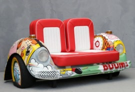 Coches deco muebles - Muebles pop art ...